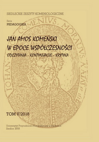 Siedleckie Zeszyty Komeniologiczne - okładka czasopisma
