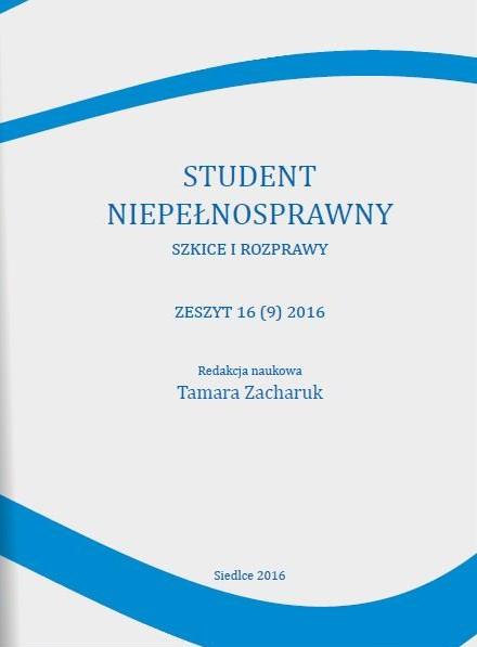 Student Niepełnosprawny 2016