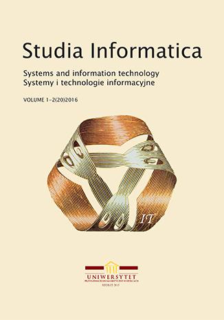 Studia Informatica. System and information technology - okładka czasopisma